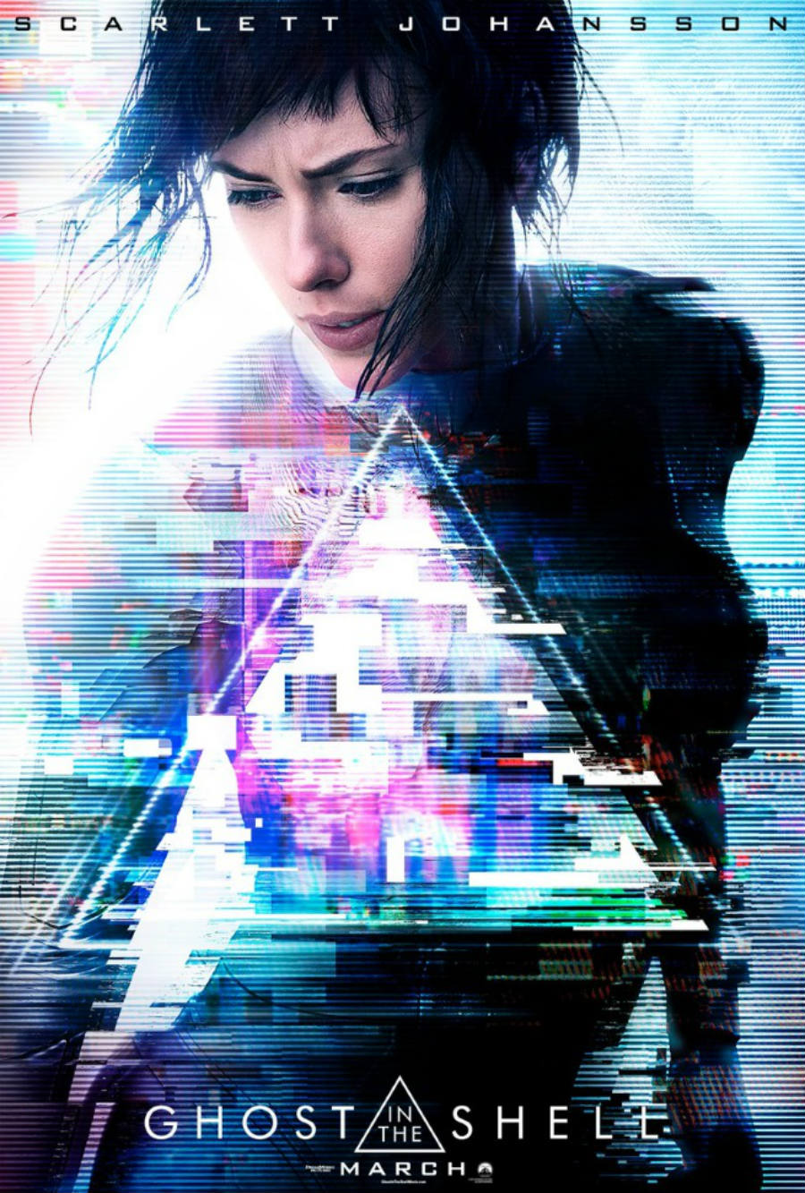 Ghost in the Shell poster. Image: Bleeding Cool News.