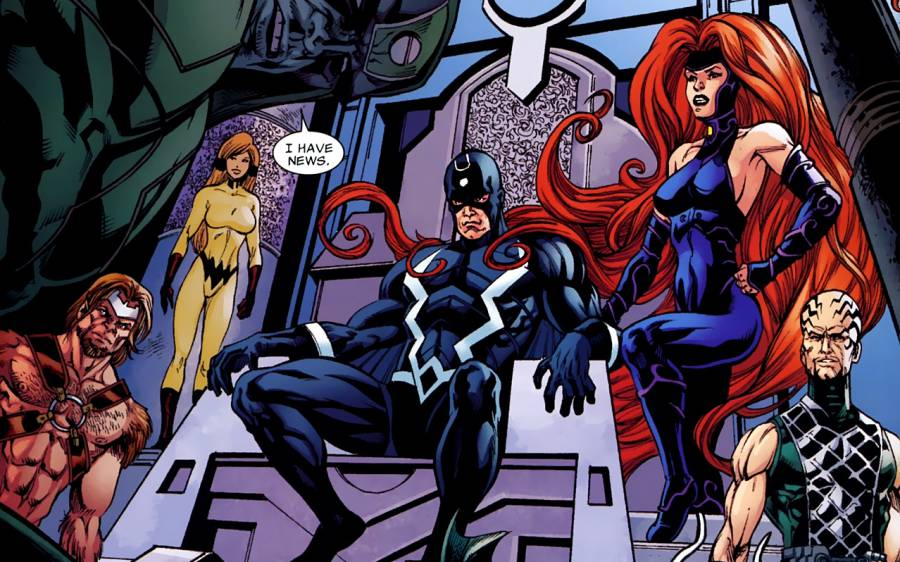 Marvel and ABC announce an Inhumans TV series