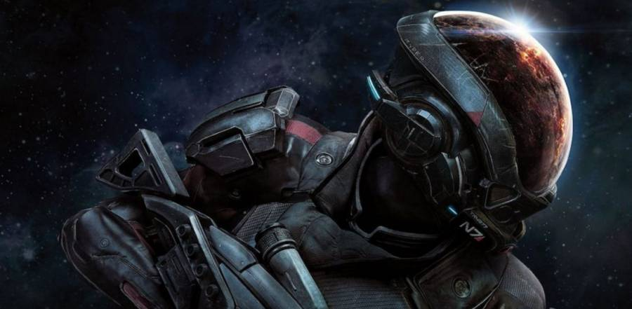 Official Mass Effect Andromeda gameplay footage will debut live at the Game Awards 2016. Image: Game Awards.