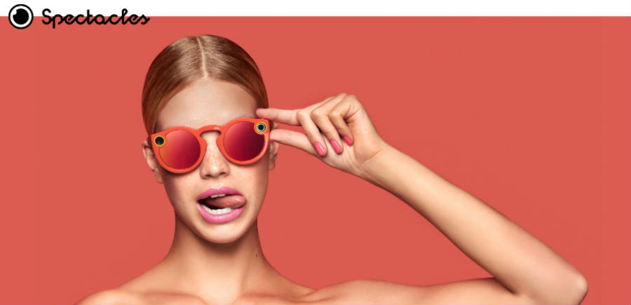 The Spectacles made Snap Inc a much more attractive inversion. Image credit: Snap Inc.