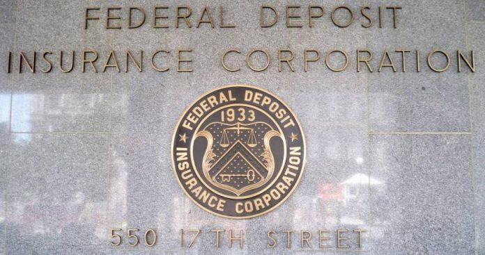 Federal Deposit Insurance Corporation logo.
