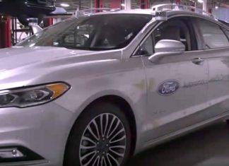 Ford Fusion Hybrid Autonomous Development Car