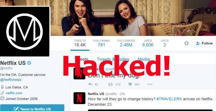 OurMine Hacks Netflic US Twitter Account