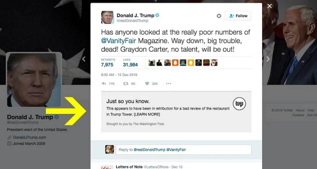 RealDonaldContext plug-in