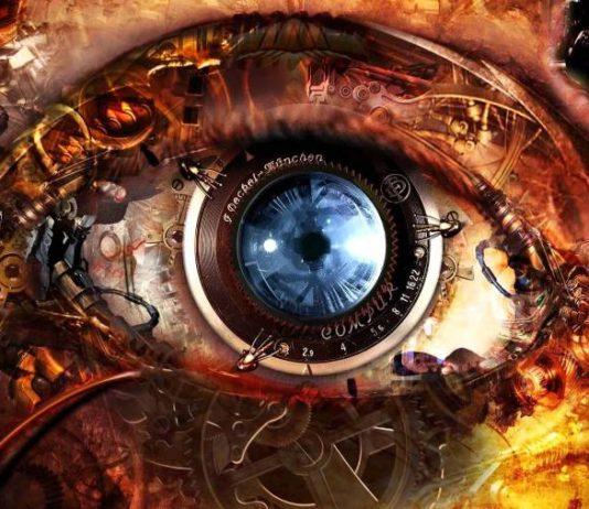 Robotic eye.