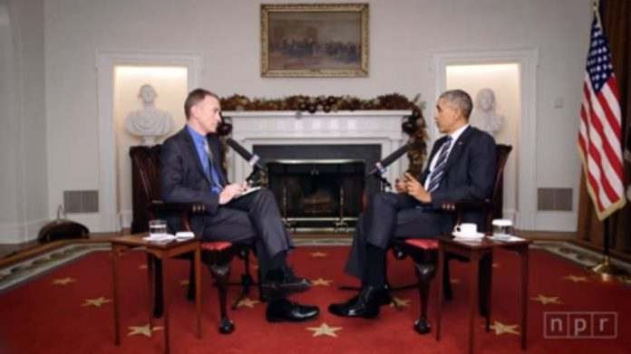 Steve Inskeep interviews Barack Obama at the White House.