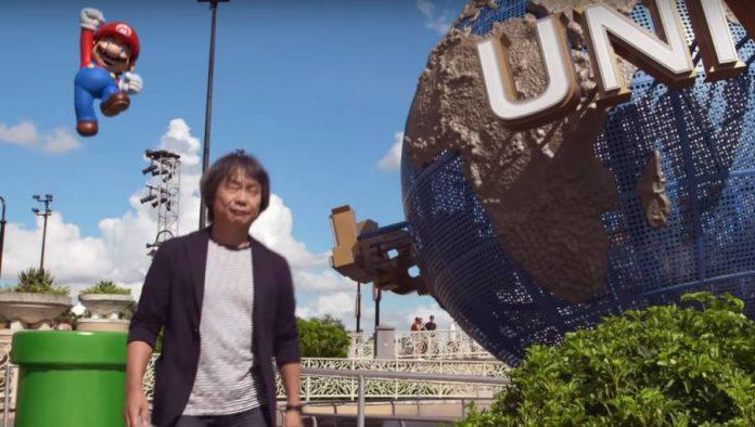 Super Nintendo World-Mario-Shigeru Miyamoto