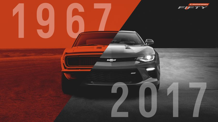 2017 Camaro 50Th Anniversary >> Meet the 50th anniversary Chevrolet Camaro 2017