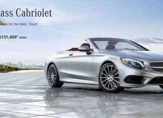2017 Mercedes s550 Cabriolet price