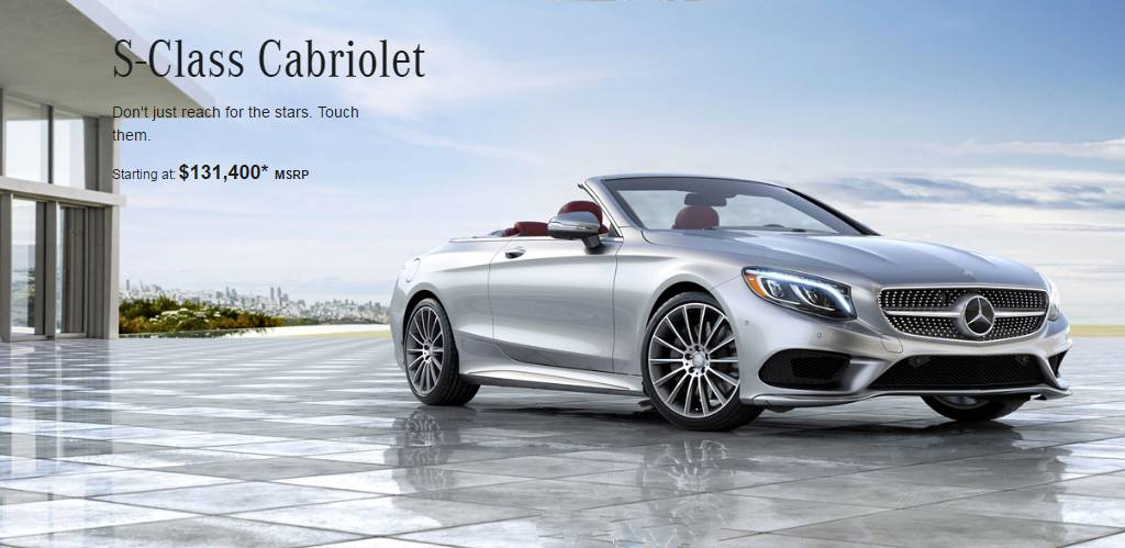 2017 mercedes s550 cabriolet price specs and extras. Black Bedroom Furniture Sets. Home Design Ideas