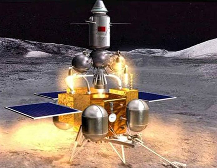 Chang-e'5 probe-moon mission-China-