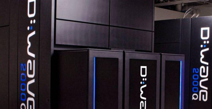 D-Wave 2000Q quantum computer