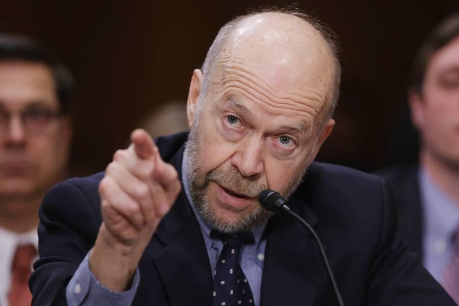 Dr. James Hansen, Climate Change expert.