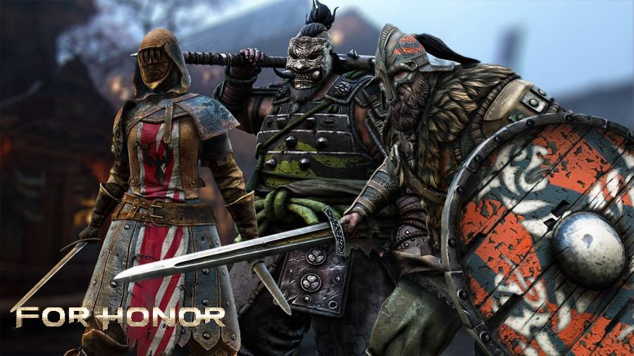 For Honor the Shugoki, the Warlord, and the Peacekeeper.