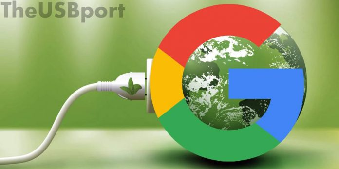 Google-green energy-zero emission-2017