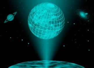 Holographic Universe picture
