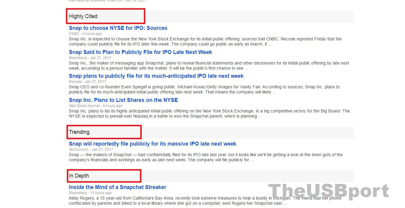 How to investigate sources in Google News