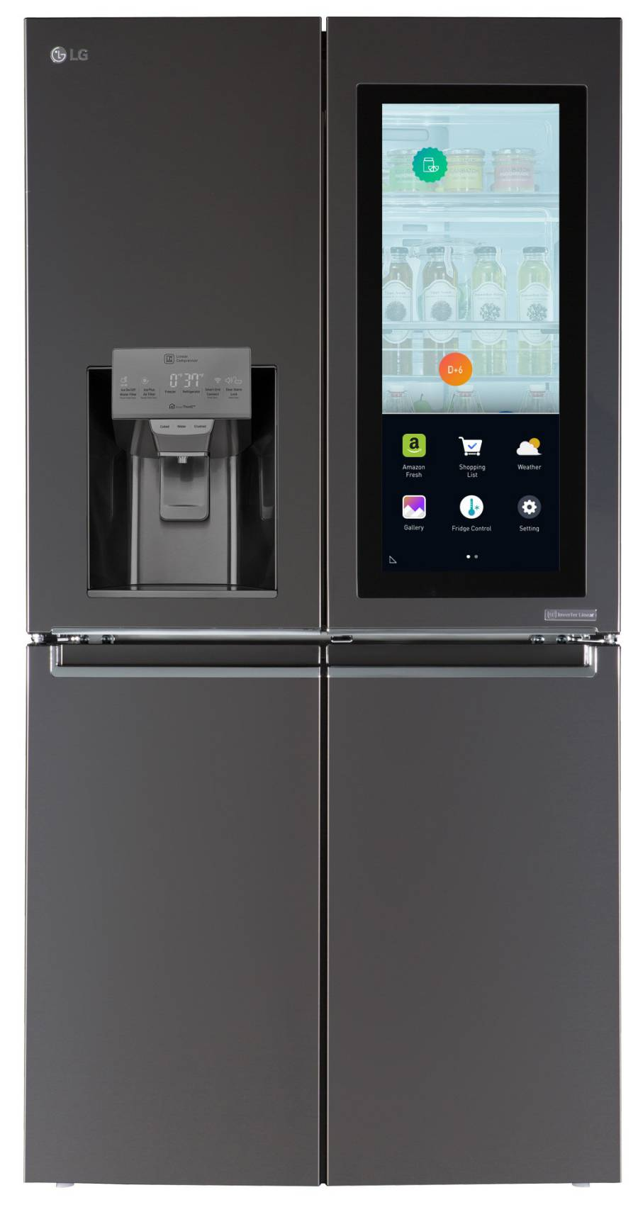 LG-Smart-Instaview-Refrigerator-powered by Alexa