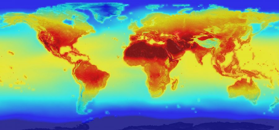 NASA releases global climate projections. Image Source: Live Science