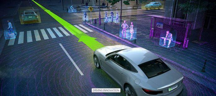 NVIDIA-autonomous car-NVIDIA drive PX 2-AutoCruise
