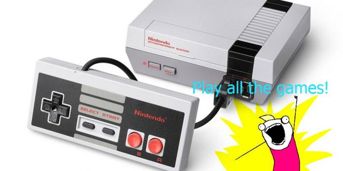 Nintendo classic edition gets hacked