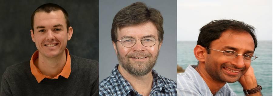Robert Wharton, James Cordes, and Shami Chatterjee.