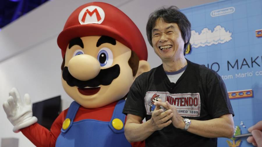 Shigeru Miyamoto, Mario's creator