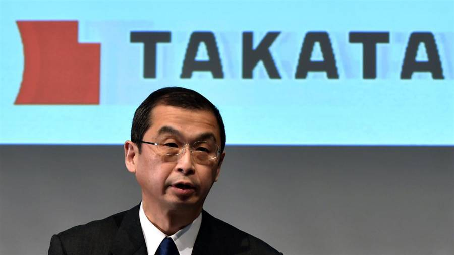 Takata CEO