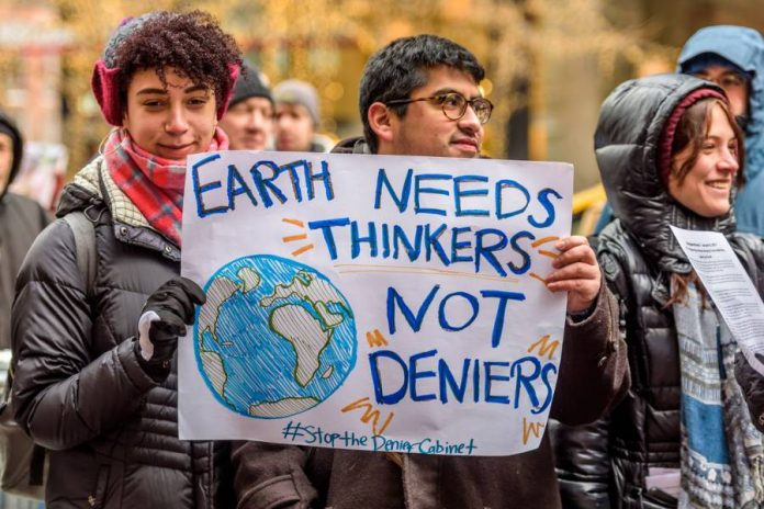 American scientists continue anti-Trump protests in Boston