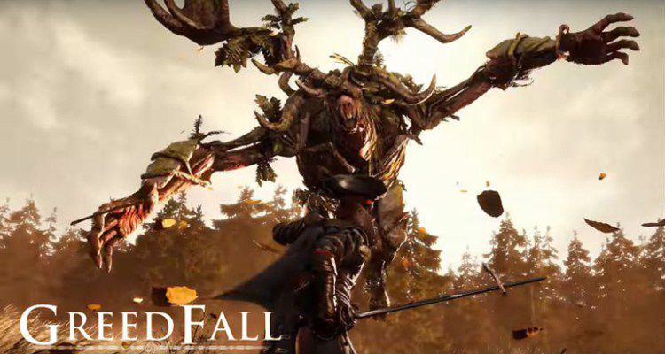 Greedfall-Settler vs magical creature