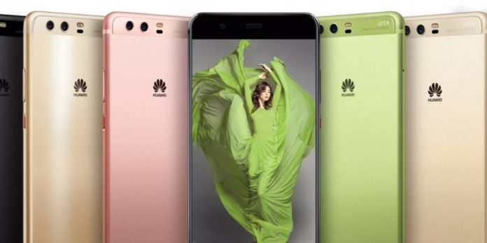 Huawei unveils the P10 and P10 Plus at the MWC 2017 in Spain