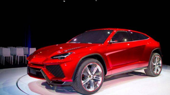 Lamborghini 2018 Urus hybrid SUV concept 2012 - exhibition