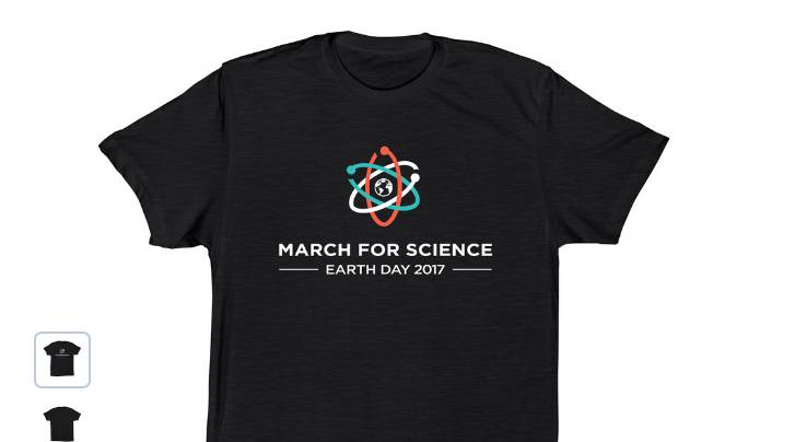 March for Science - Earth Day - Store