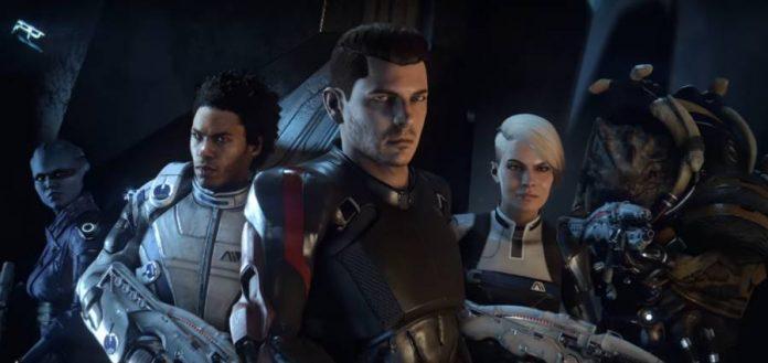 Mass Effect Andromeda crew members.