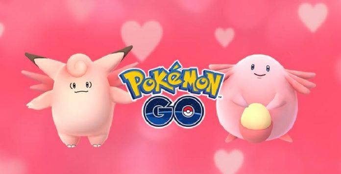 Pokémon GO Valentine's Day special.