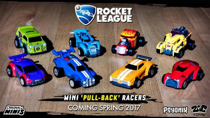 Rocket League-ZAG Toys-car toys-4 new characters