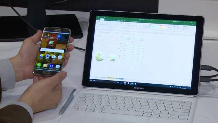 Samsung Flow demonstration - Galaxy Book.