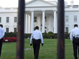 Security staff at the White House