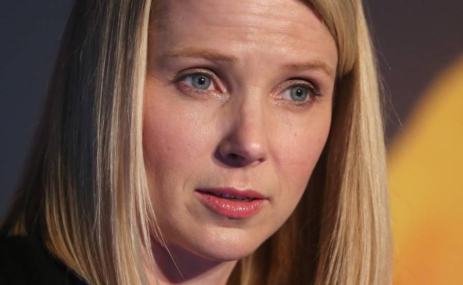 Yahoo CEO, Marissa Mayer.