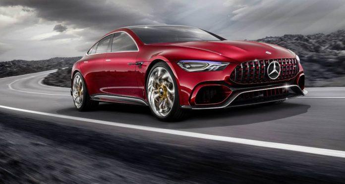 2017 Mercedes AMG GT Concept Car