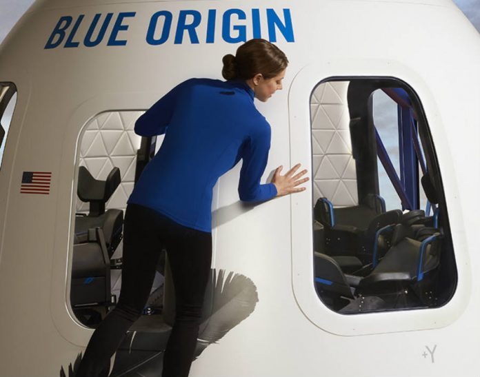 Blue Origin-New Shepard-tourist-capsule