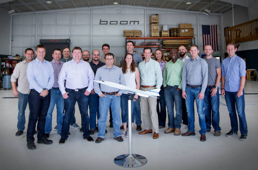 Boom Technology team photo