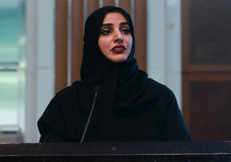 Dr. Aisha bint Butti bin Bishr - Smart Lab General Director.
