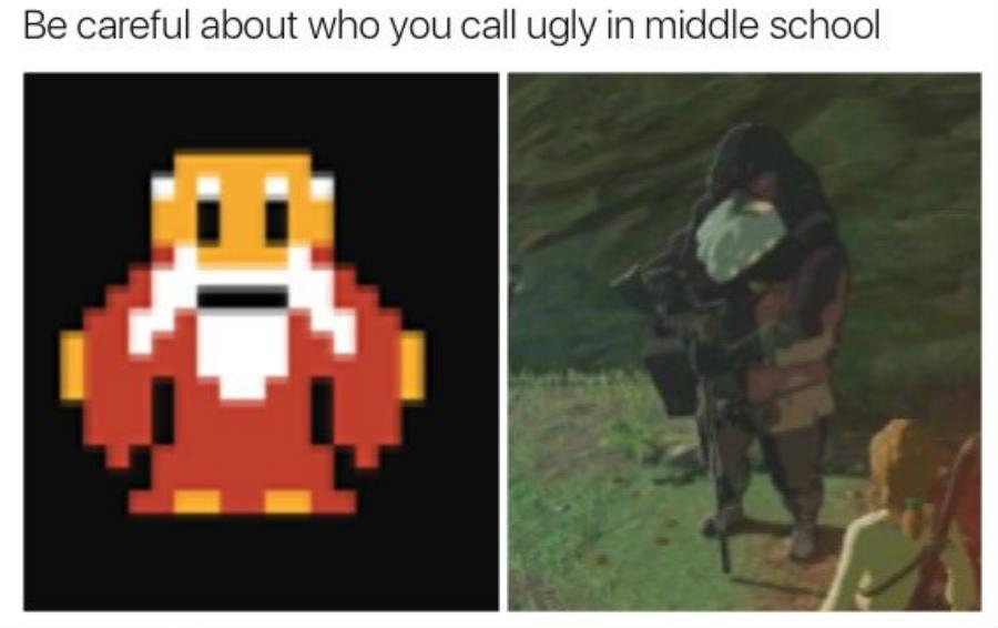It is dangerous to go alone-Zelda