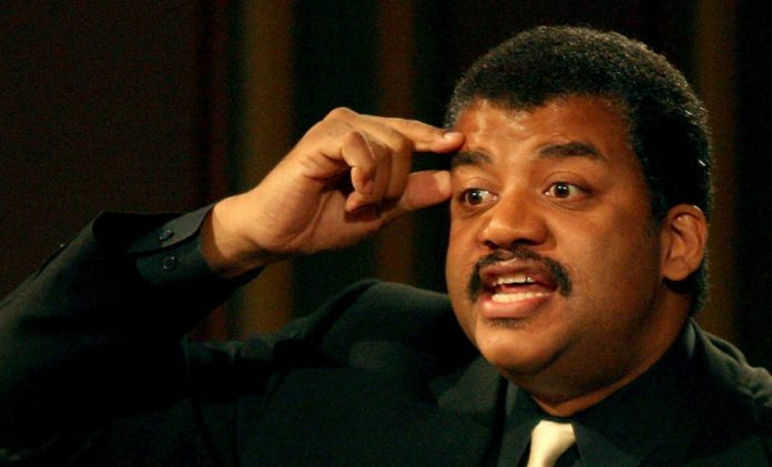Neil deGrasse Tyson angry