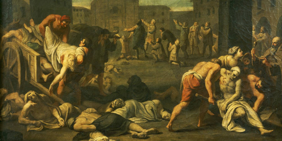 Plague painting