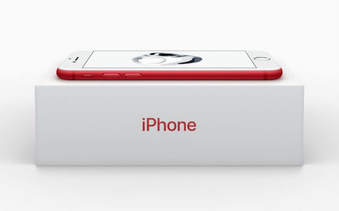 Product Red - iPhone Special edition