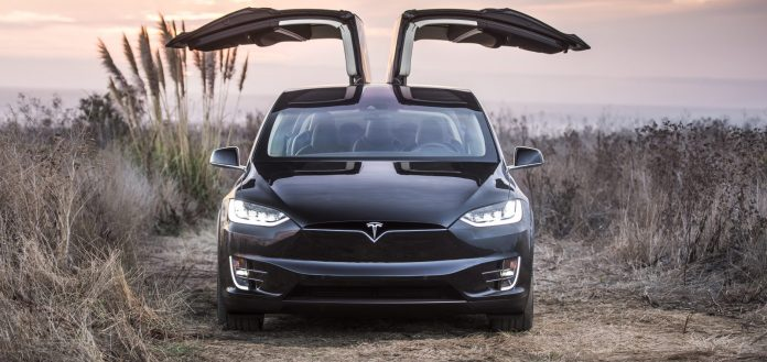 Tesla model Y leaked render