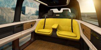 Sedric: Volkswagen new self-driving concept car's Interior