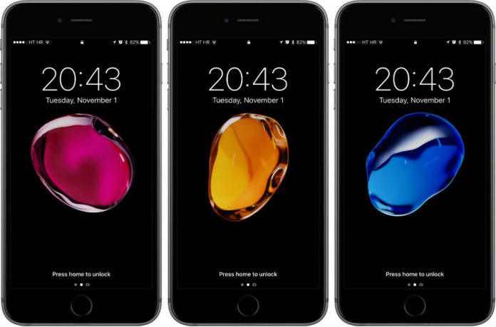 iOS 10.3 screen protectors.